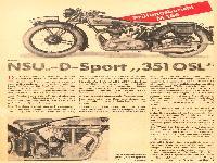NSU D-Sport 351 OSL