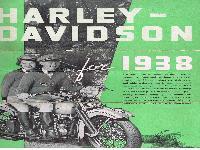 Harley Davidson for 1938