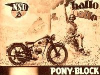 NSU Pony Block