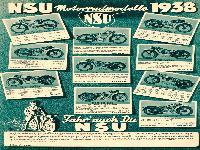 NSU Modelle 1938