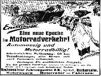 NSU Werbung 1912