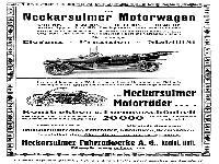 NSU Werbung 1914