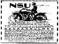 NSU Werbung 1920