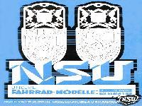 NSU Fahrrad-Modelle