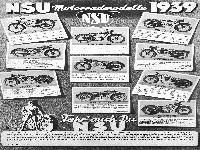 NSU Modelle 1939