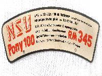 NSU Pony 100