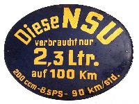 NSU 200 ccm