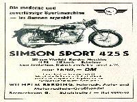 Simson 425 S