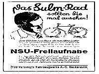 Das Sulm-Rad.