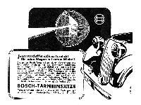 Bosch - Tarneinsätze