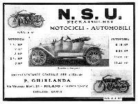 NSU Motocicli - Automobili
