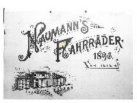 Naumann`s Fahrräder 1896