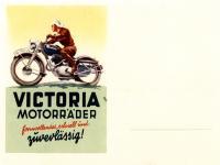 Victoria Werbekarte