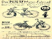 NSU Motorfahrrad
