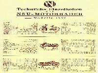 NSU Modelle 1932