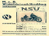 NSU Rennen
