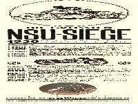 NSU Siege 1930