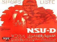 NSU Siegesliste 1933