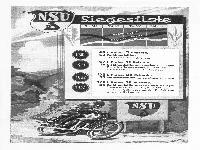 NSU-D Motorrad-Siege 1934