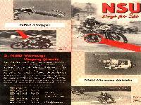 NSU Vorzüge