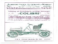 Colibri Motorwagen
