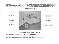 Messerschmitt KR 200 und KR 201