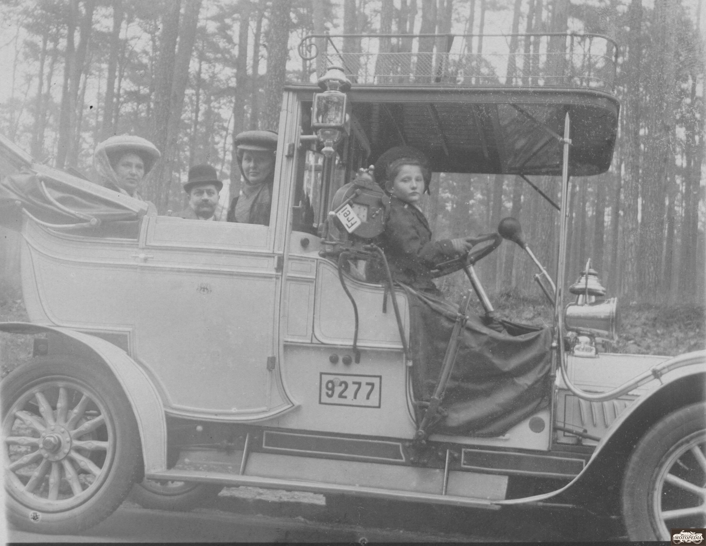 Adler Landaulet, 1909