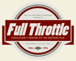 Tellus Science Museum Full Throttle Logo