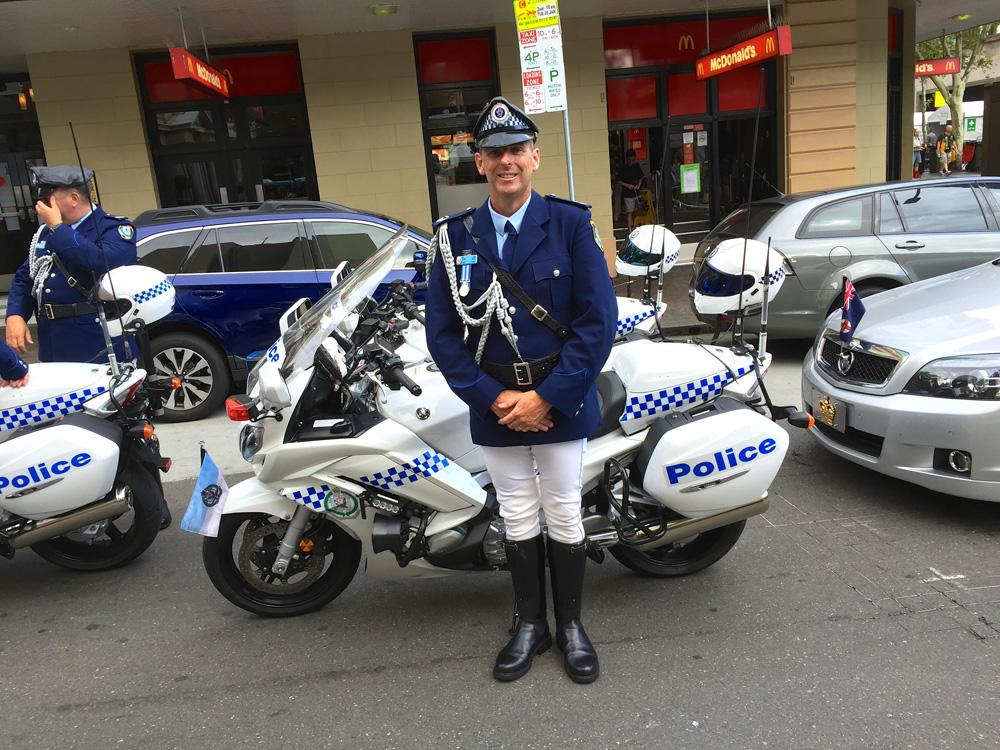 Polizei in Australien