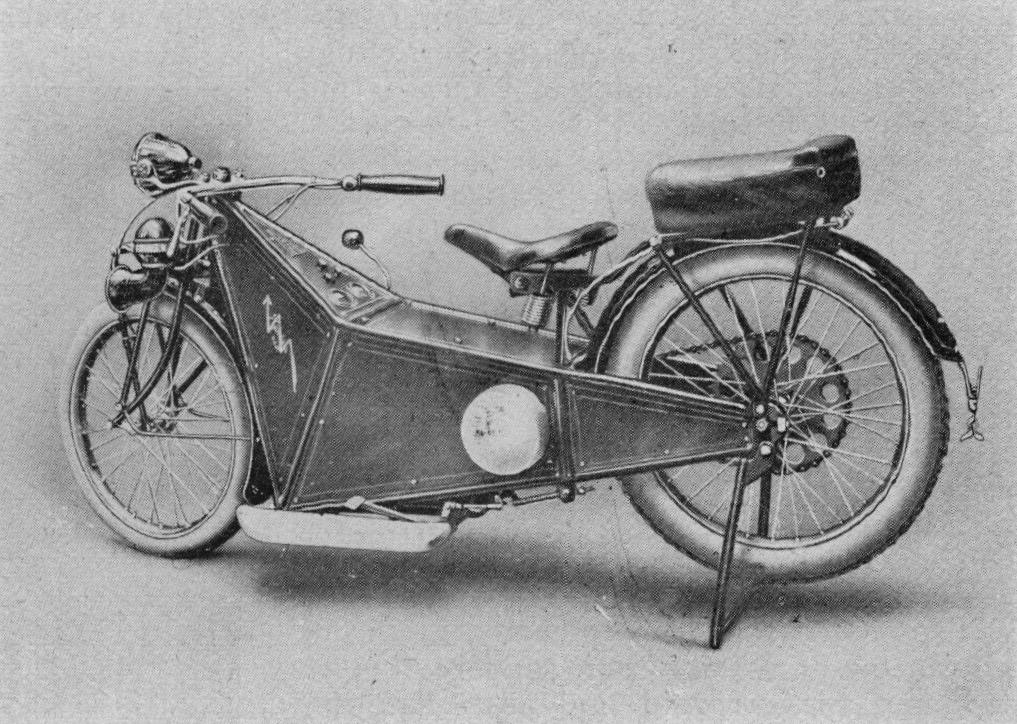 "Elektromotorrad ""Rambola"" München, 1925"
